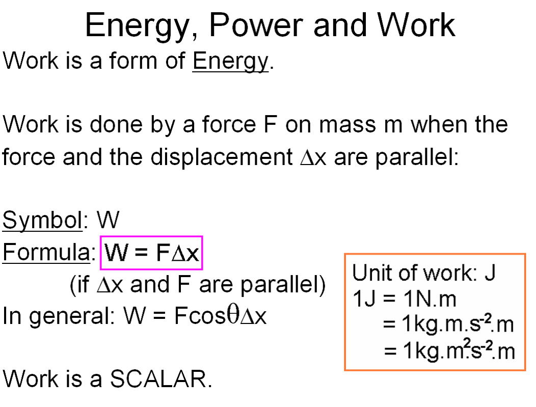 energy formula physics - photo #23