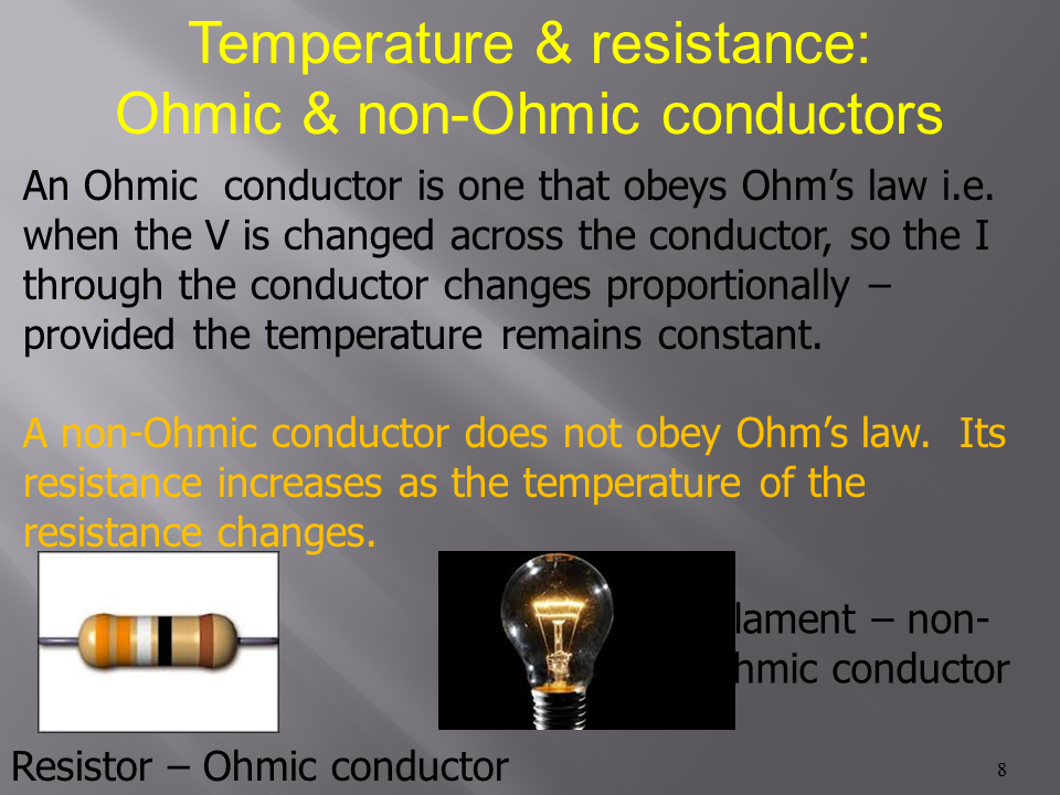 experiment ohmic resistance and ohm s law